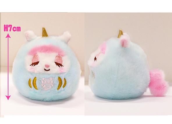 あみゅだるま ユニコーンのコニーセット/Amu Daruma Unicorn's Cony set:701992-1993,2001-2002