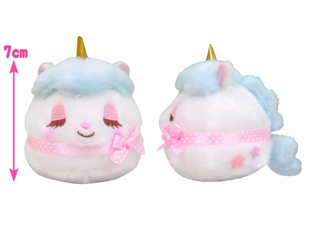 あみゅてだま ユニコーンのコニーセット/Amu Tedama Unicorn's Cony set:701984-1985