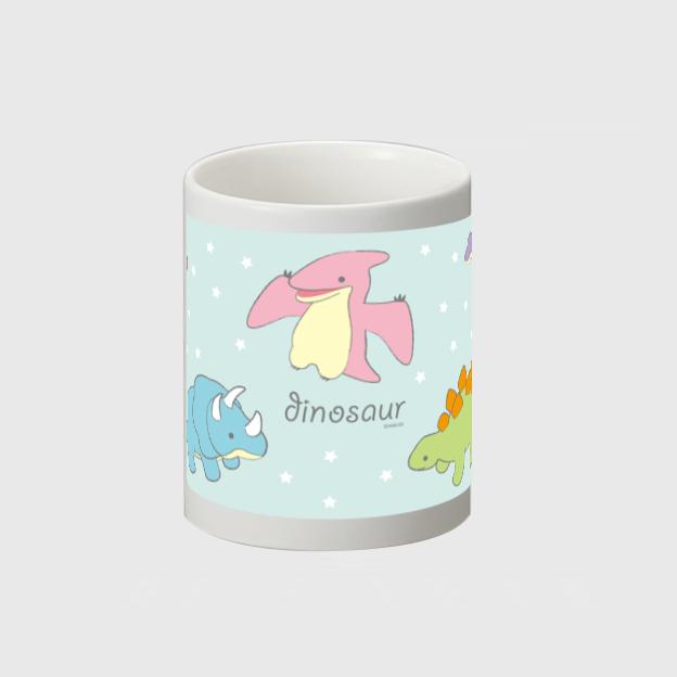 【オンライン限定】恐竜時代マグカップ(パステル/ブルー)572040