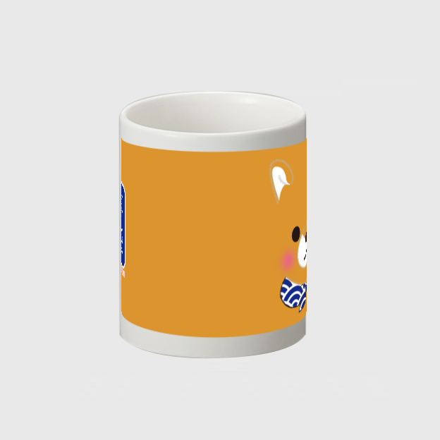 【オンライン限定】豆しば三兄弟マグカップ(豆太郎/フェイス)