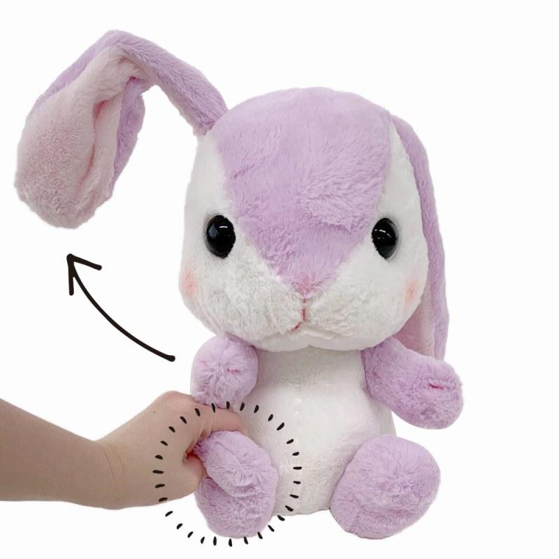 ぽてうさろっぴーお耳ぴょこぴょこJB すみれちゃん/Loppy ears move JB Sumirechan:509711