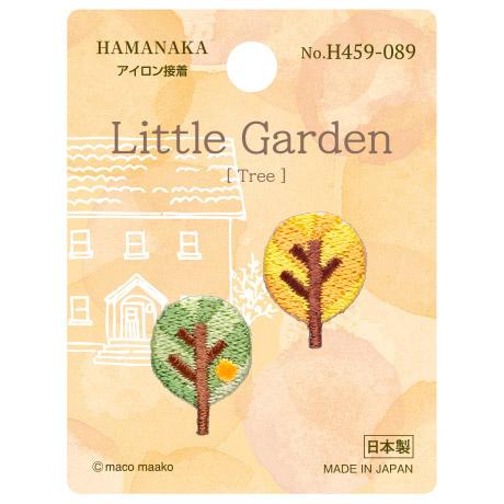 H459-089 ワッペン リトルガーデン Tree