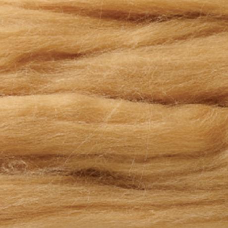 H440-005-553 リアル羊毛フェルト 植毛ストレート レッド
