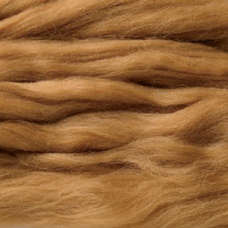 H440-005-554 リアル羊毛フェルト 植毛ストレート ダークレッド