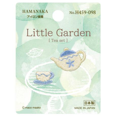 H459-098 リトルガーデン Tea set