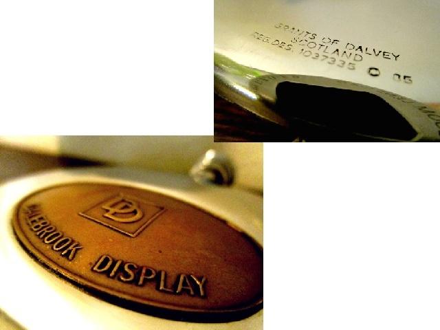 英国ビンテージ スキットル ウイスキー ヒップフラスク ステンレス 160ml Grant of DALVEY SCOTLAND イギリス雑貨