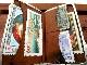 英国アンティーク シルバーカード/スタンプケース 切手ホルダー 財布 純銀&革製 両面装飾 エドワード期バーミンガム1911年P&S社製