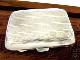 英国アンティーク シルバー シガレットケース 煙草 純銀 51g 両面彫金 ターンエンジン装飾 ジョージ5世 バーミンガム1924年
