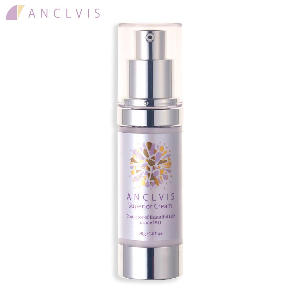 【新発売】エイジングサインに届く。 ANCLVIS(アンクルイス)スーペリアクリーム 30g /  敏感肌 乾燥肌 エイジングケア  スキンケア<送料無料>