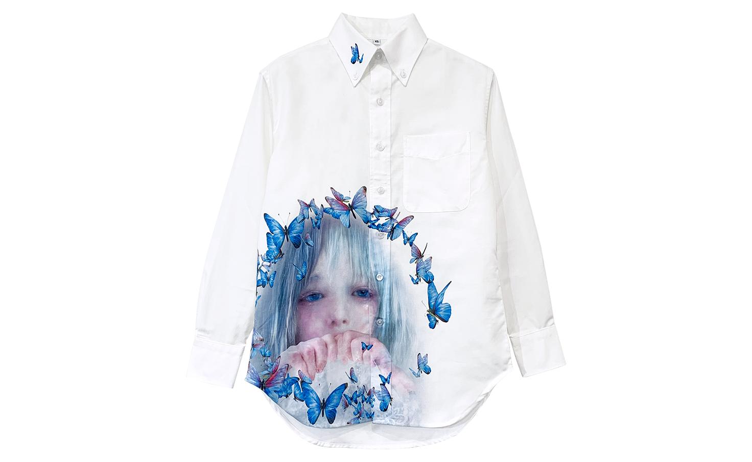 ボタンダウンシャツ_C