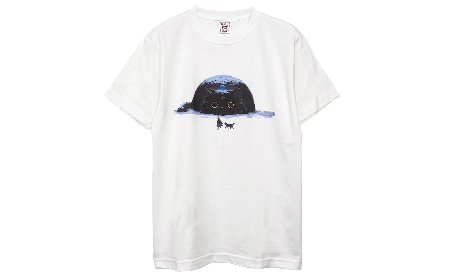 クロネコ Tシャツ (White)