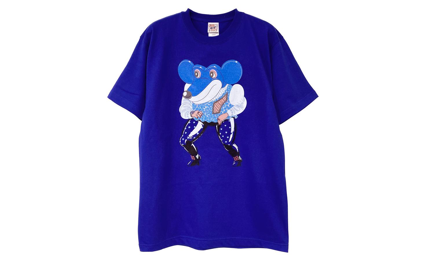 ネズミ_Tシャツ