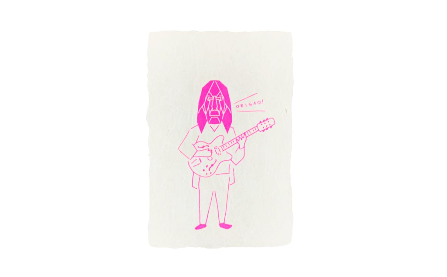 ポストカード イマジン(ピンク、ライトブルー)