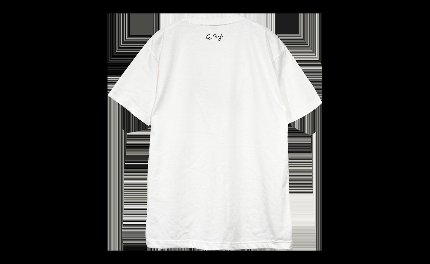 Tシャツ_ブチギレワンコ_白