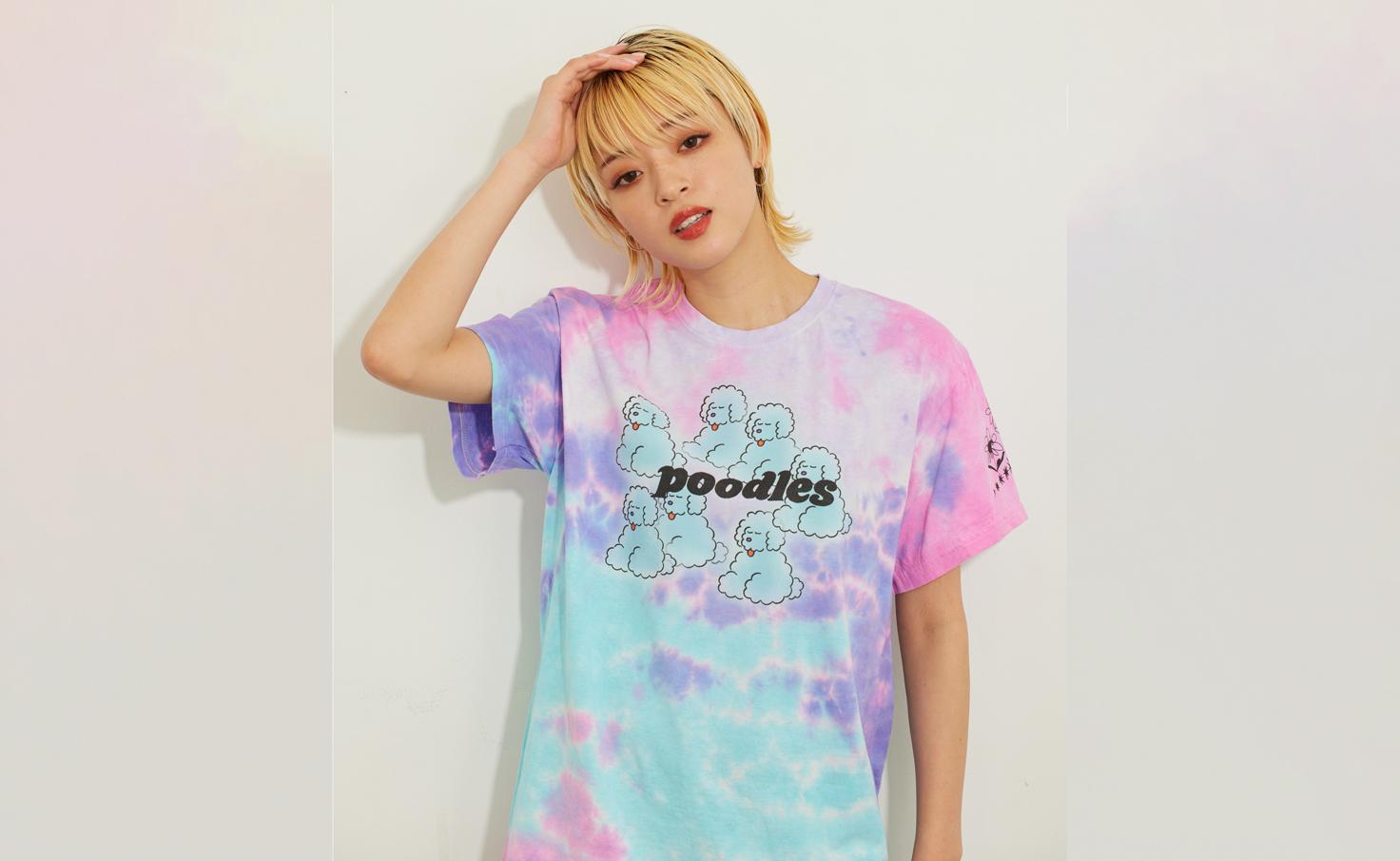 Tシャツ_ぼんやりブードル