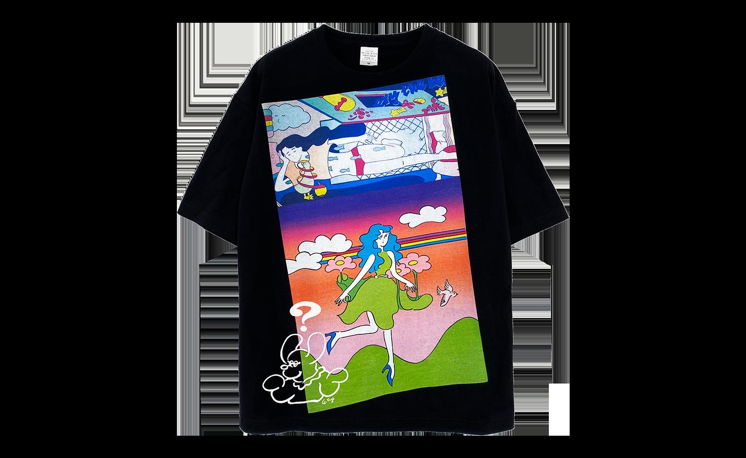Tシャツ_run run runaway