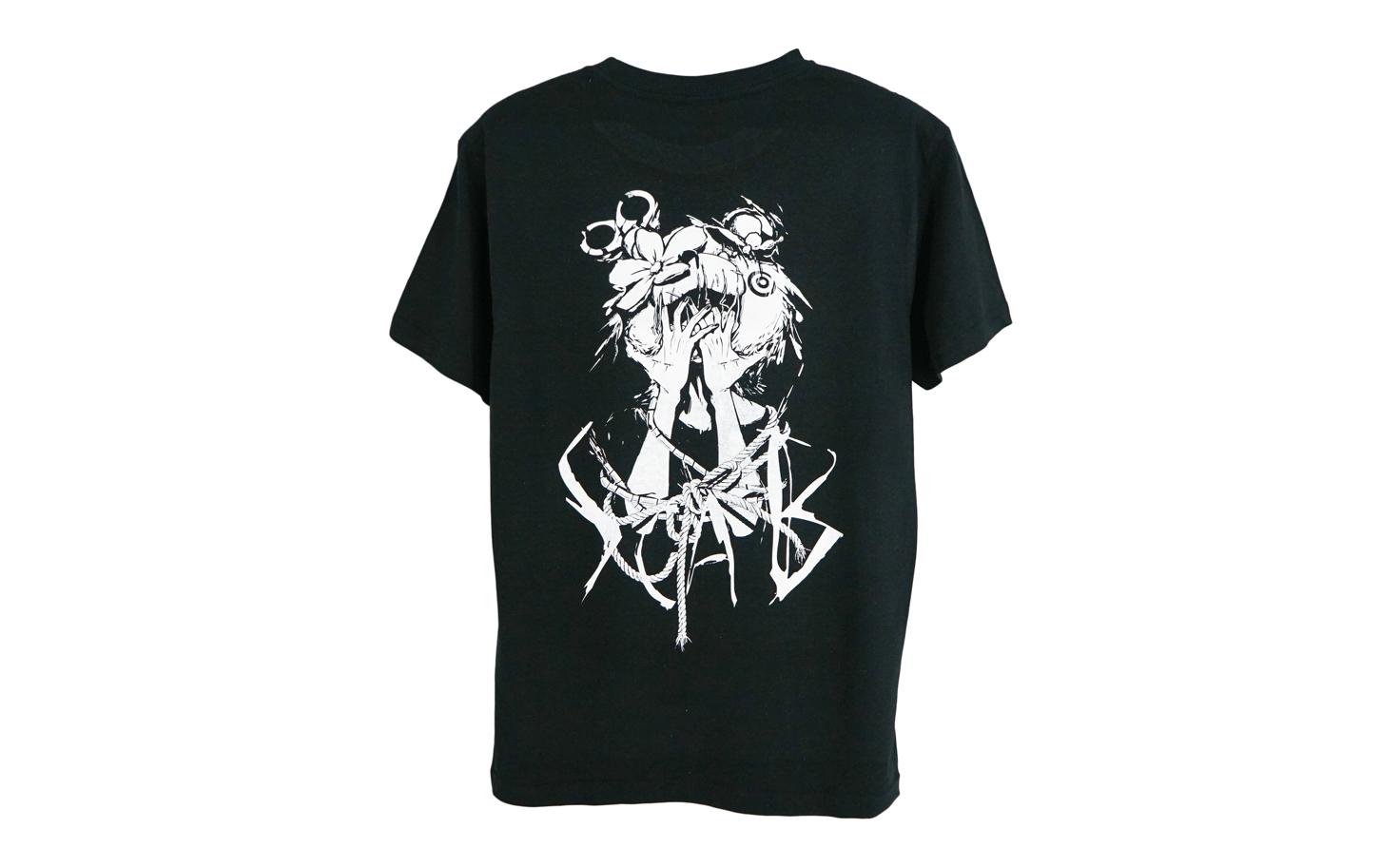 『多田野 九真』 Tシャツ(ブラック)