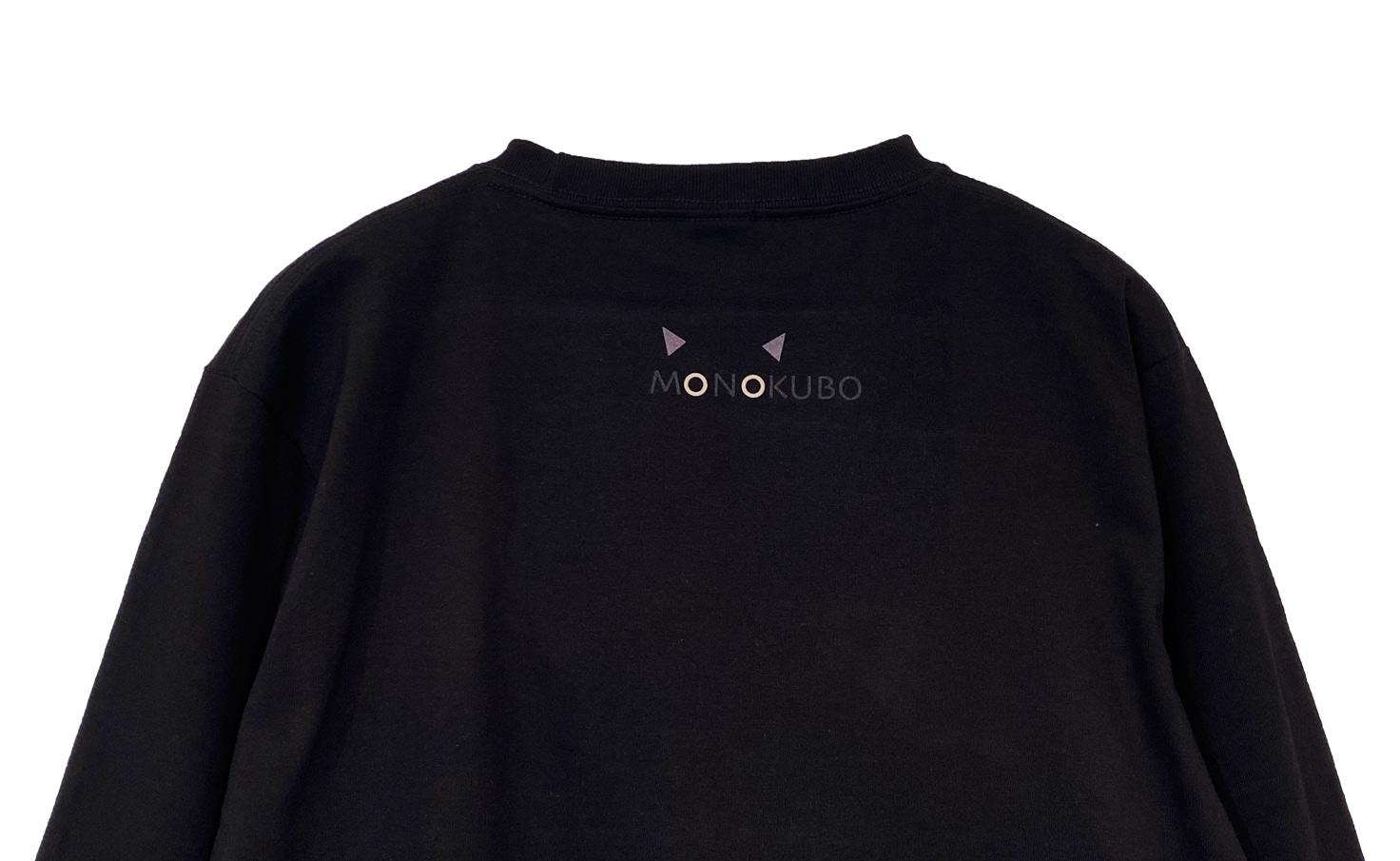 ロングスリーブ クロネコ Tシャツ(Black)
