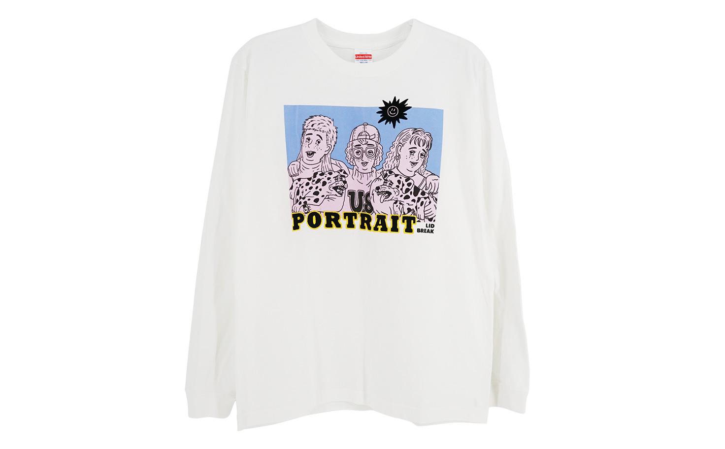 portrait ロンT
