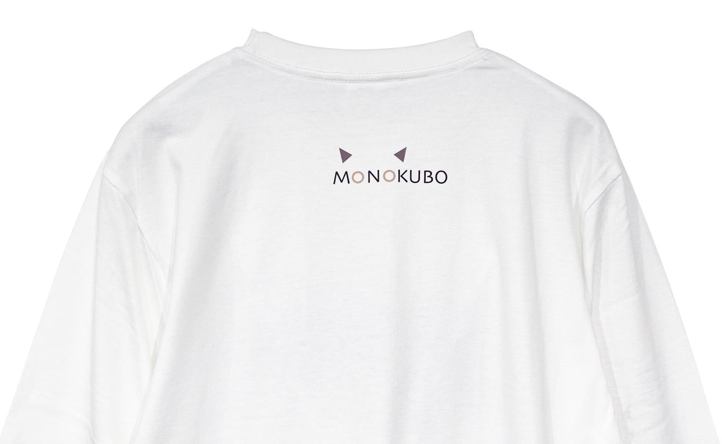 ロングスリーブ クロネコ Tシャツ(White)