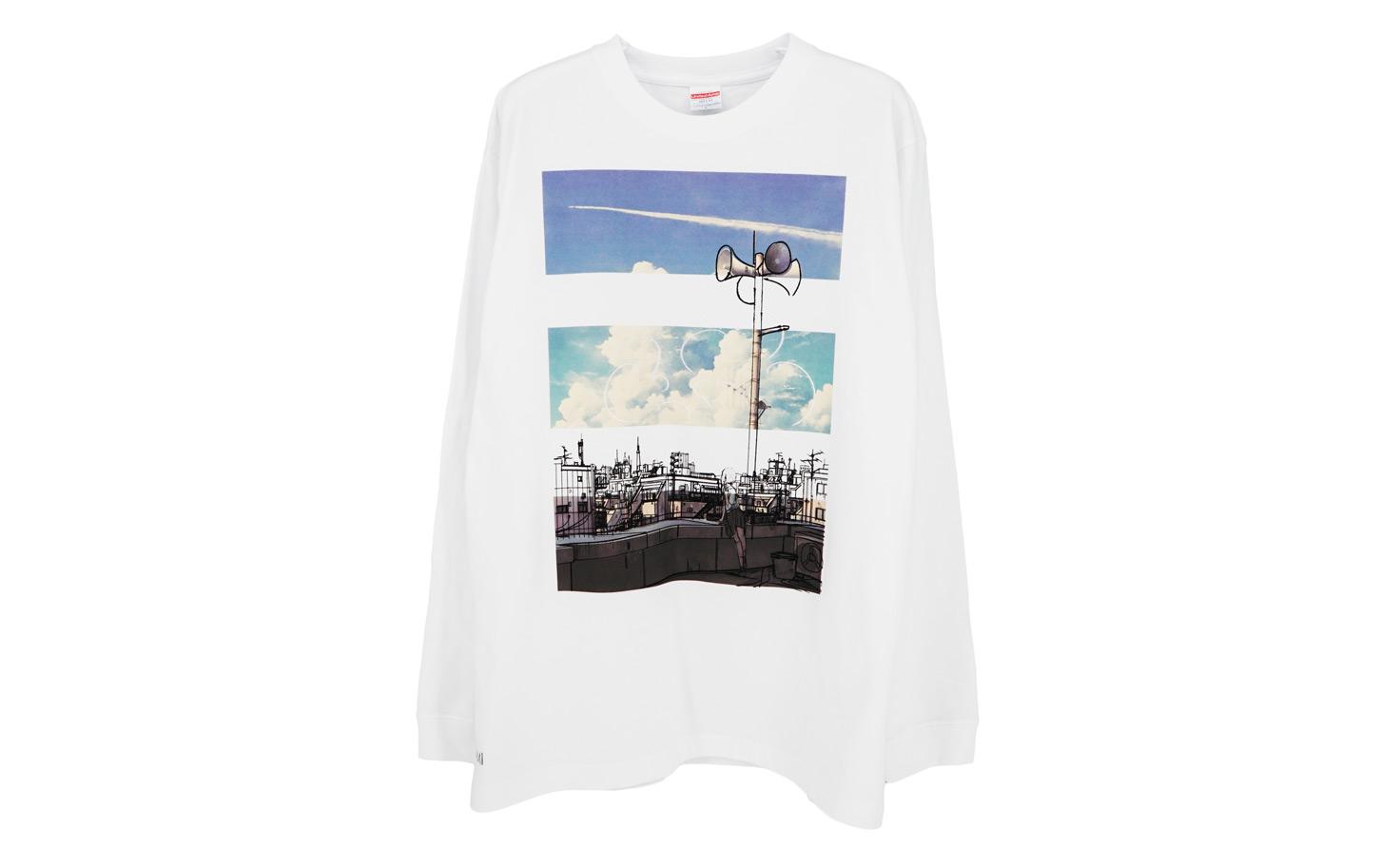 『白昼』 ロングスリーブTシャツ