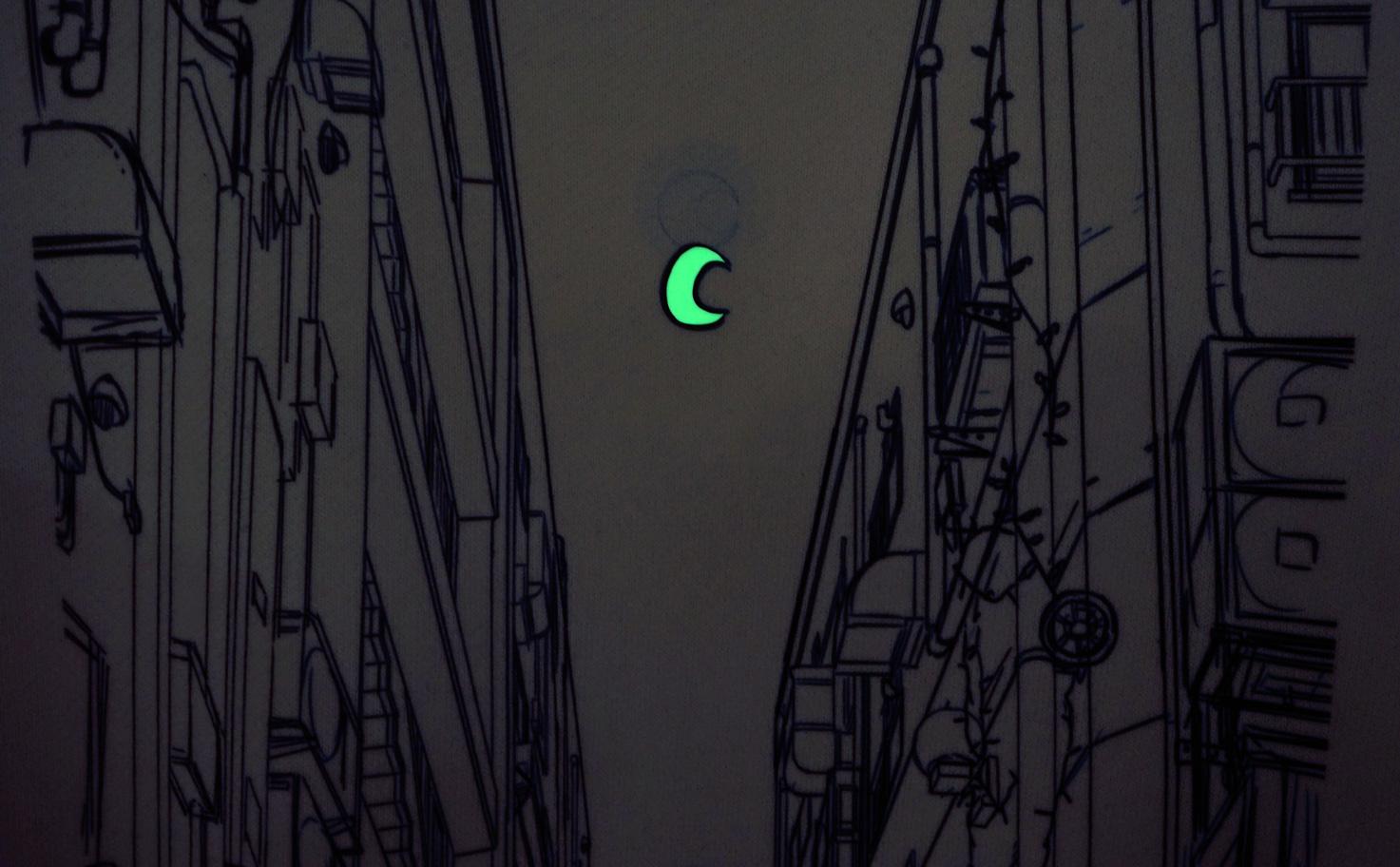『月へ』 トレーナー