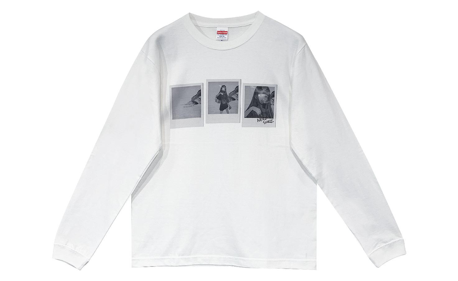 ロングTシャツ_THIN MOON_C