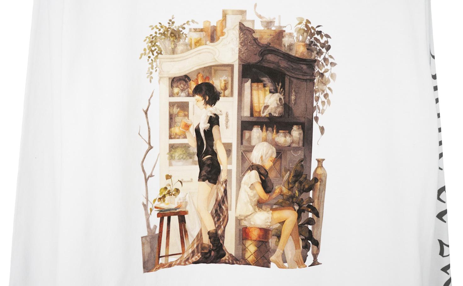 『ブランとノアール』 ロングスリーブTシャツ