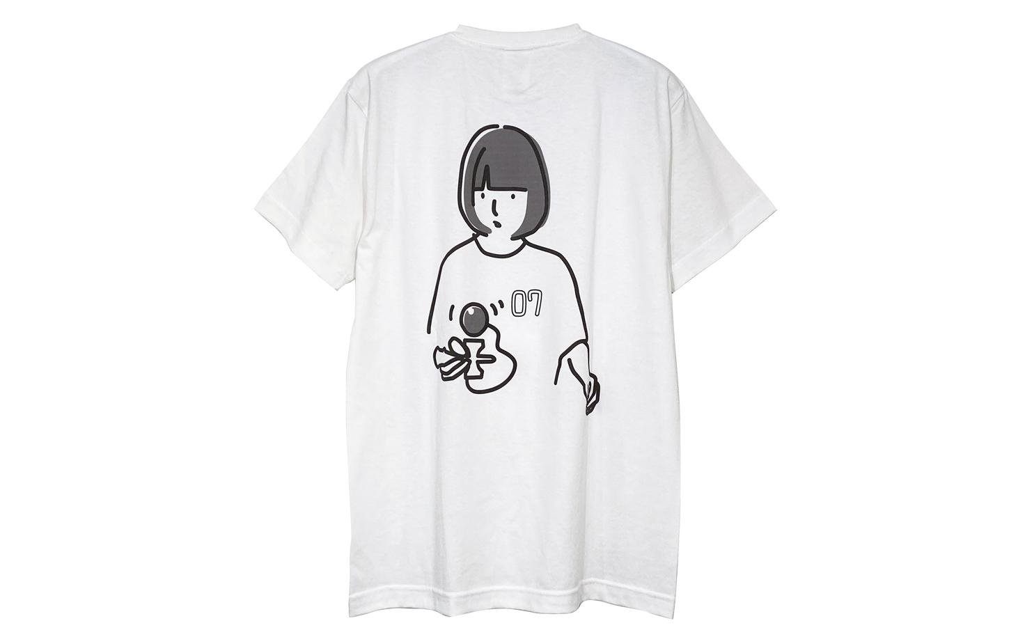 レナオリジナルTシャツ(ホワイト)