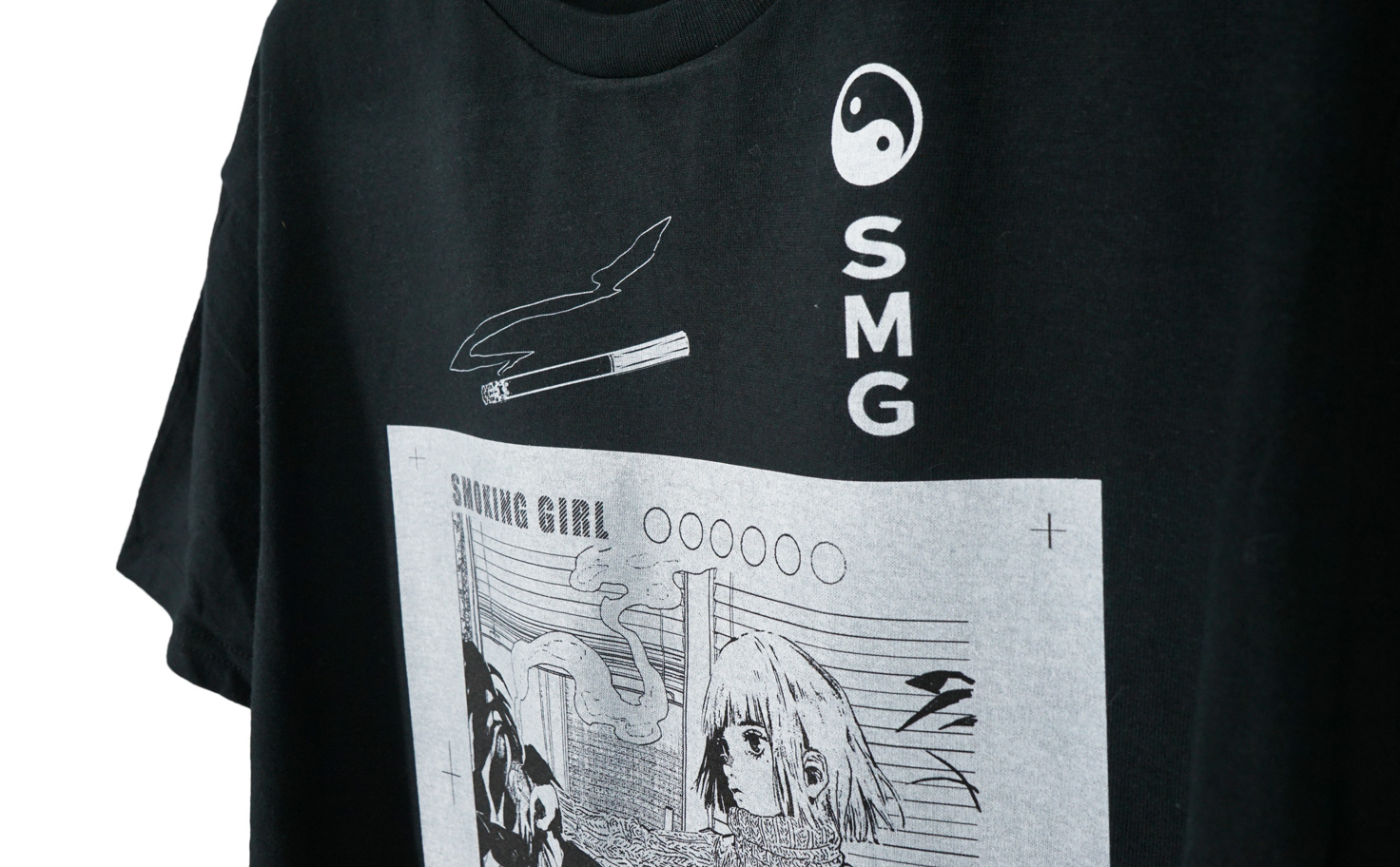 『喫煙女子速報』 Tシャツ