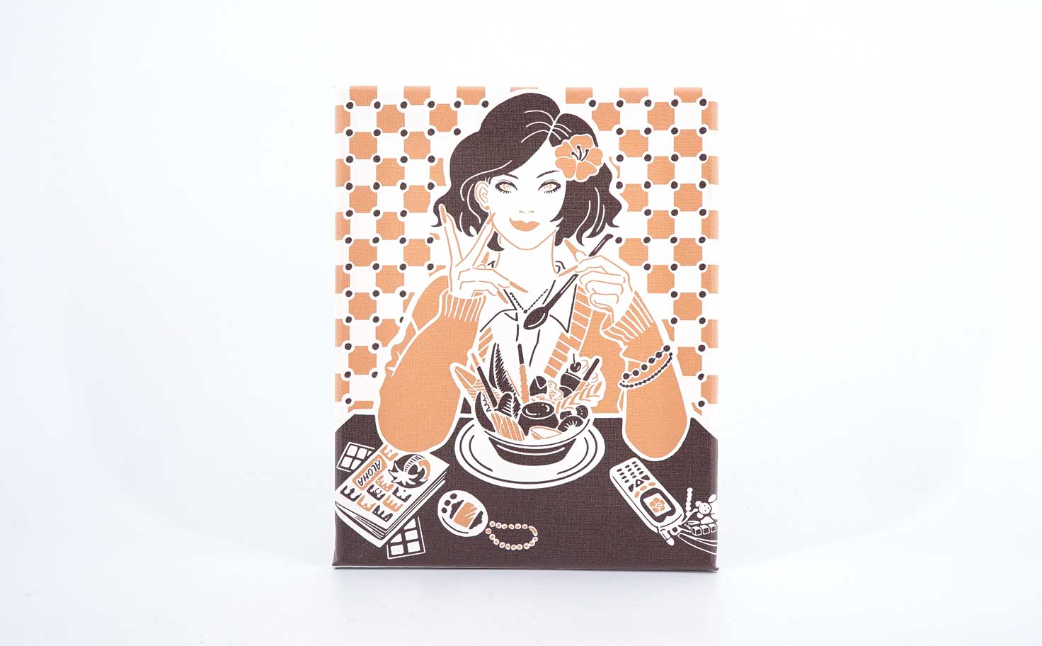 90's girl at Coffee Seibu