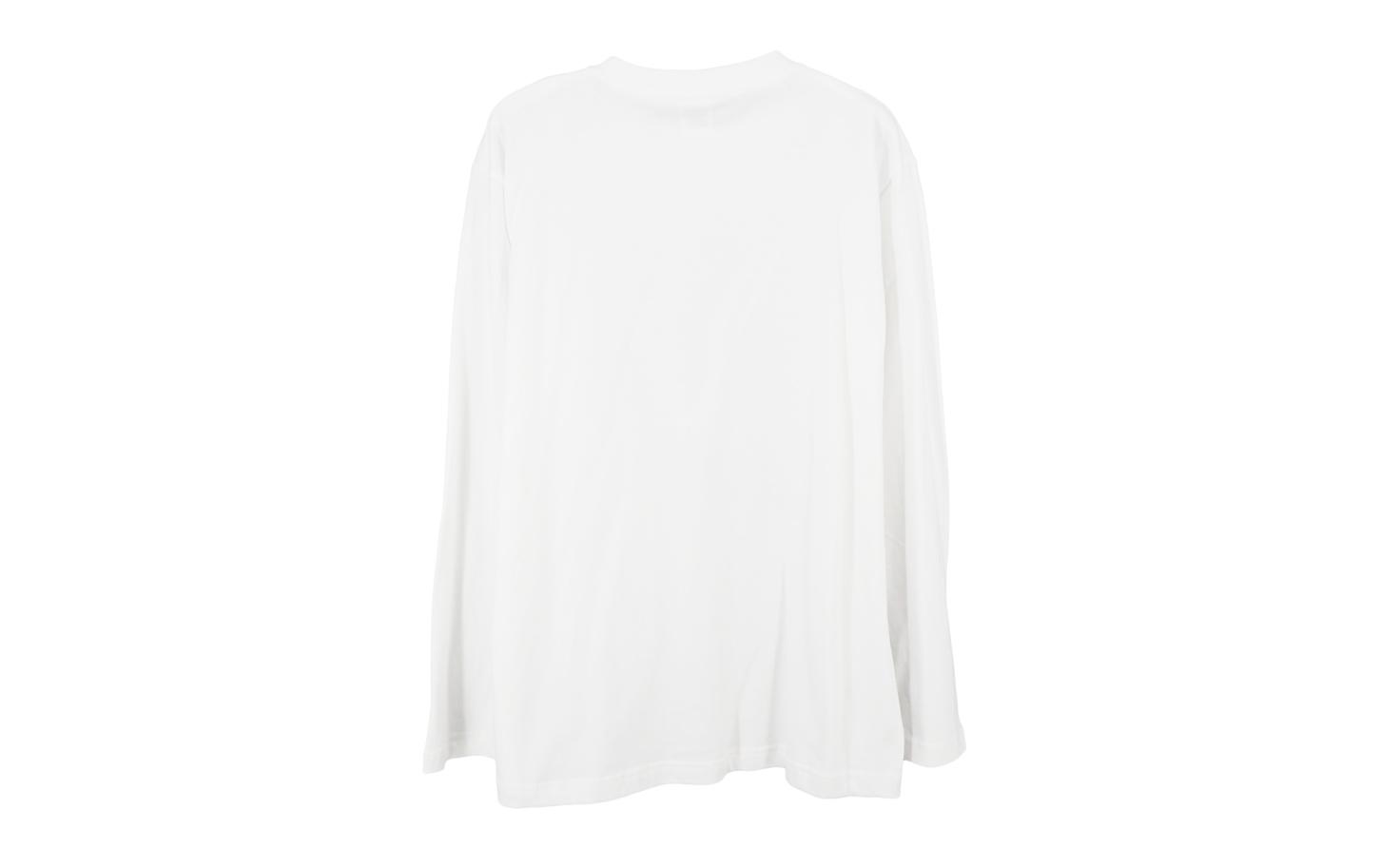 『SMOKING GIRL』 ロングスリーブTシャツ(ホワイト)