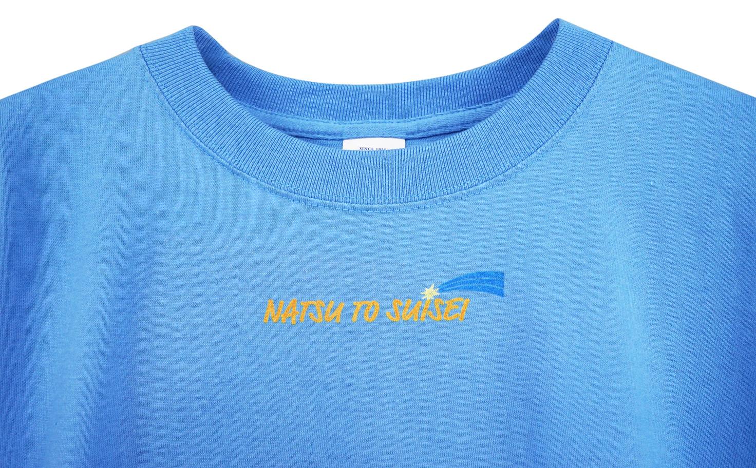 厚生地 Flash Pack Tee(Blue)