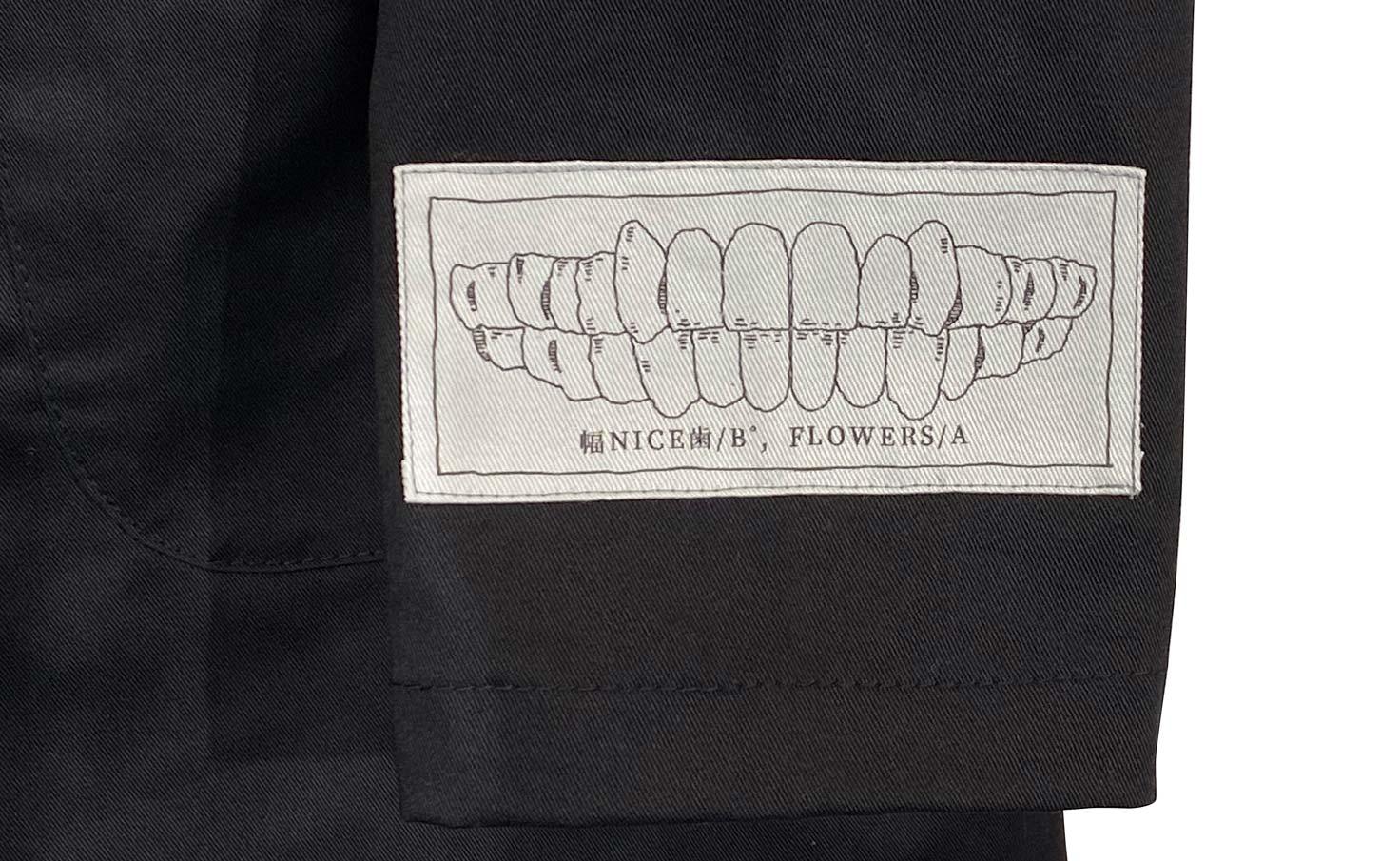 『幅NICE歯』 ダスターコート(ブラック)