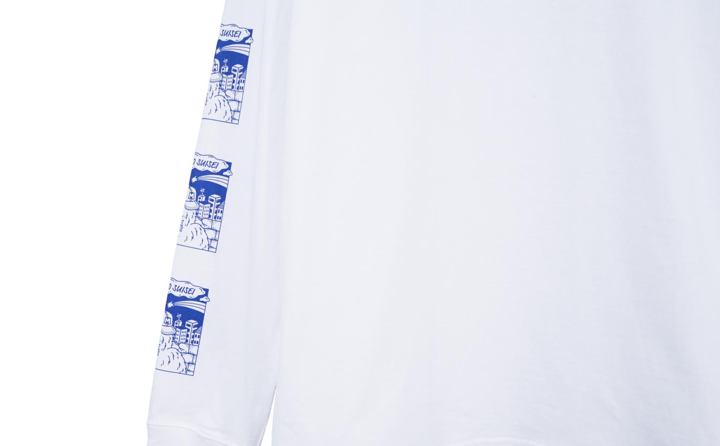 Long Sleeve Tee(White)