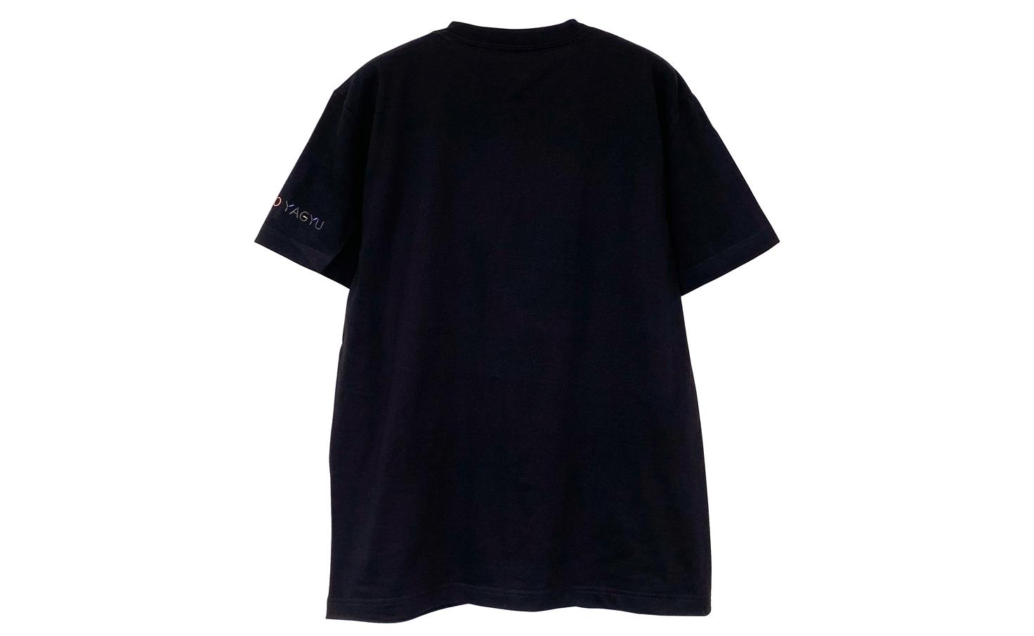 Tシャツ_smile dog_A(Black)