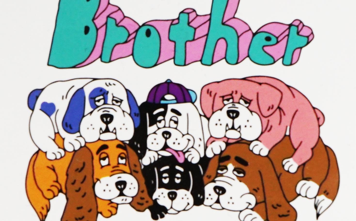 シングルステッカー/Brother