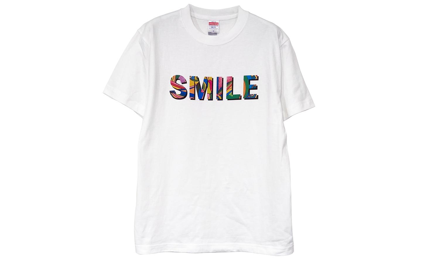 Tシャツ_smile dog_D
