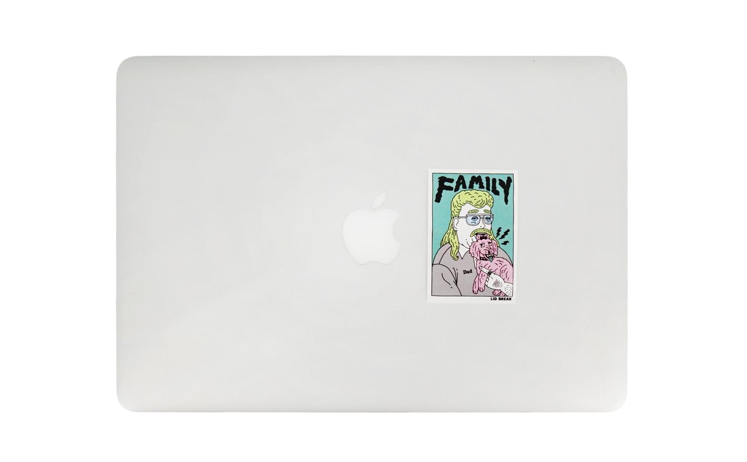 シングルステッカー/Familly
