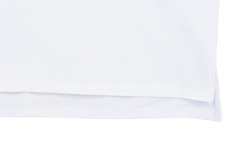 五分袖 Over Size Tee (White)