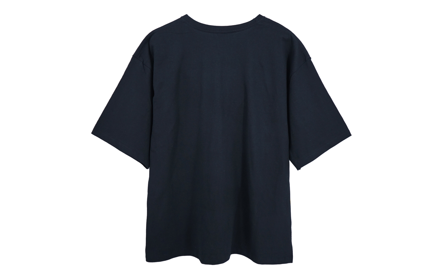 五分袖 Over Size Tee (Black)