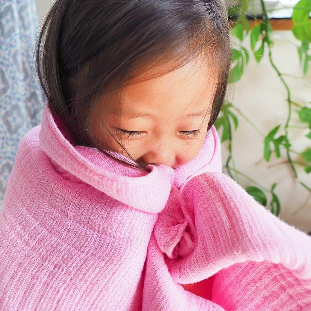 CoHAC. インナーパイル ミニタオル 限定色ピンク