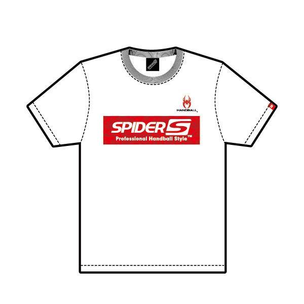 スパイダー(SPIDER) SPIDERHS  03 ハンドボール DRY  Tシャツ  Design No.3  WHITE 21SS