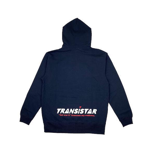 TRANSISTAR(トランジスタ) HB20AT01  NVY ハンドボール スウェット  パーカー  BOXCAMO  20FW