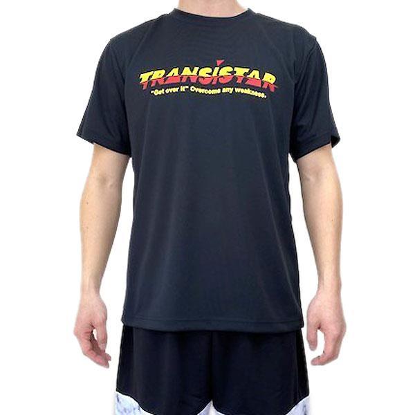 TRANSISTAR(トランジスタ) HB21TS04  BLKYEL ハンドボール 半袖  Tシャツ  LAG 21SS