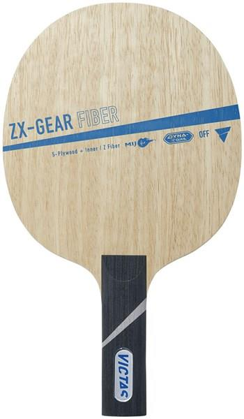 VICTAS(ヴィクタス) 029005 卓球 ラケット 攻撃用シェークハンド ZX-GEAR FIBER ST 19SS