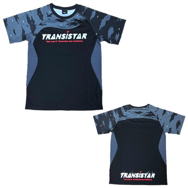 TRANSISTAR(トランジスタ) HB20ST01 BLK ハンドボール サイドメッシュゲームシャツ PICTOGRAM 20SS