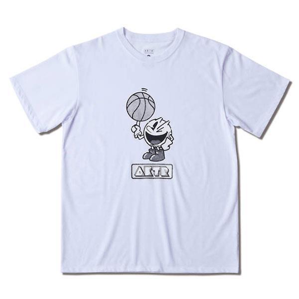 AKTR(アクター) 221089005  WH バスケットボール Tシャツ PAC-MAN x AKTR B.BALL PAC-MAN TEE 21FW