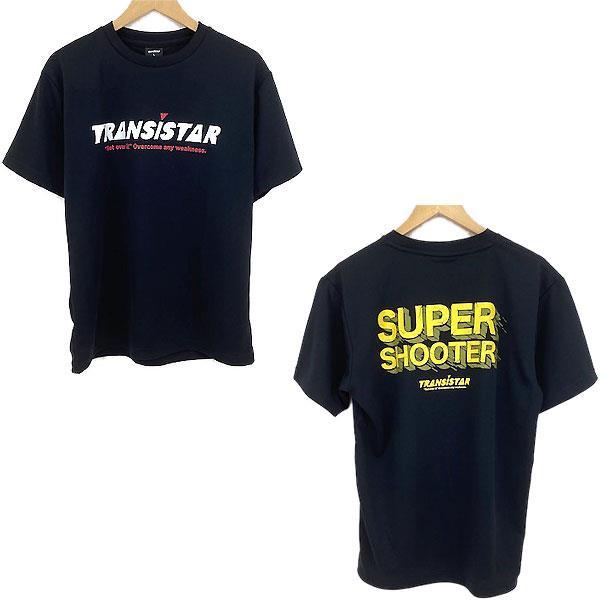 TRANSISTAR(トランジスタ) HB21TS10  BLKYEL ハンドボール 半袖  Tシャツ  SUPERSHOOTER2 21SS