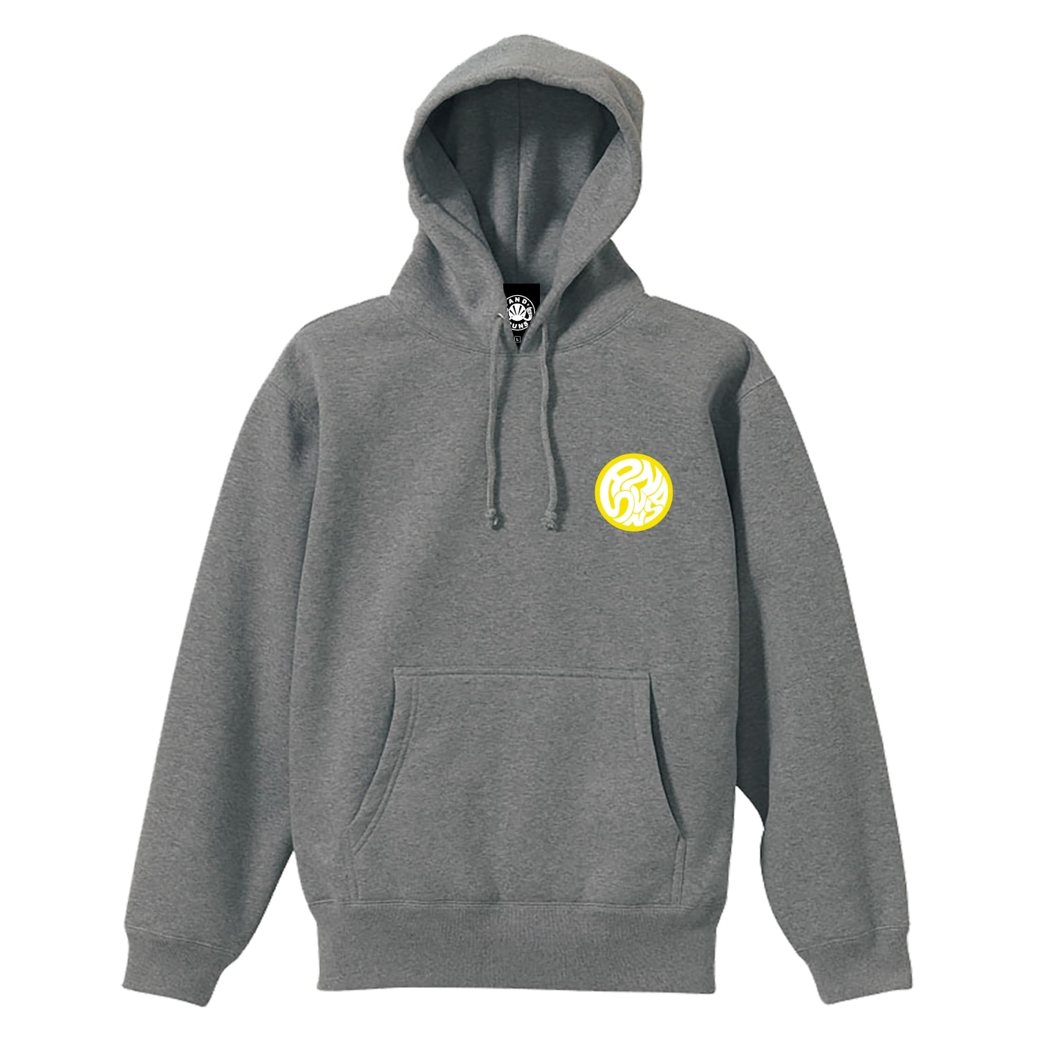 SWIRLING SUNS PULLOVER (GREY)